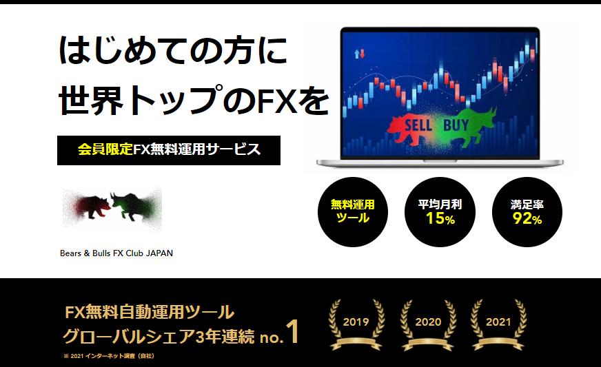 ベアブルFX(Bears&Bulls FX)評判