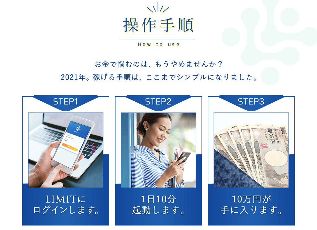 LIMIT(リミット)株式会社e-COMPANY 操作手順