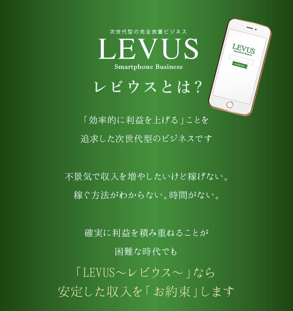 LEVUS(レビウス)概要