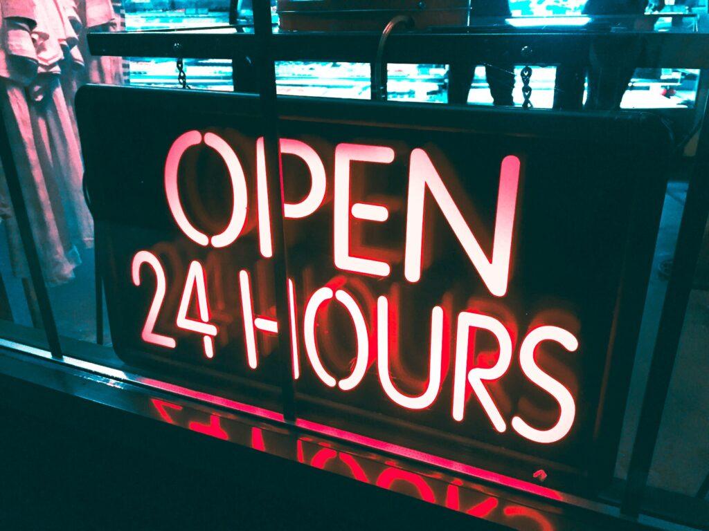 自動売買ツールは24時間稼働